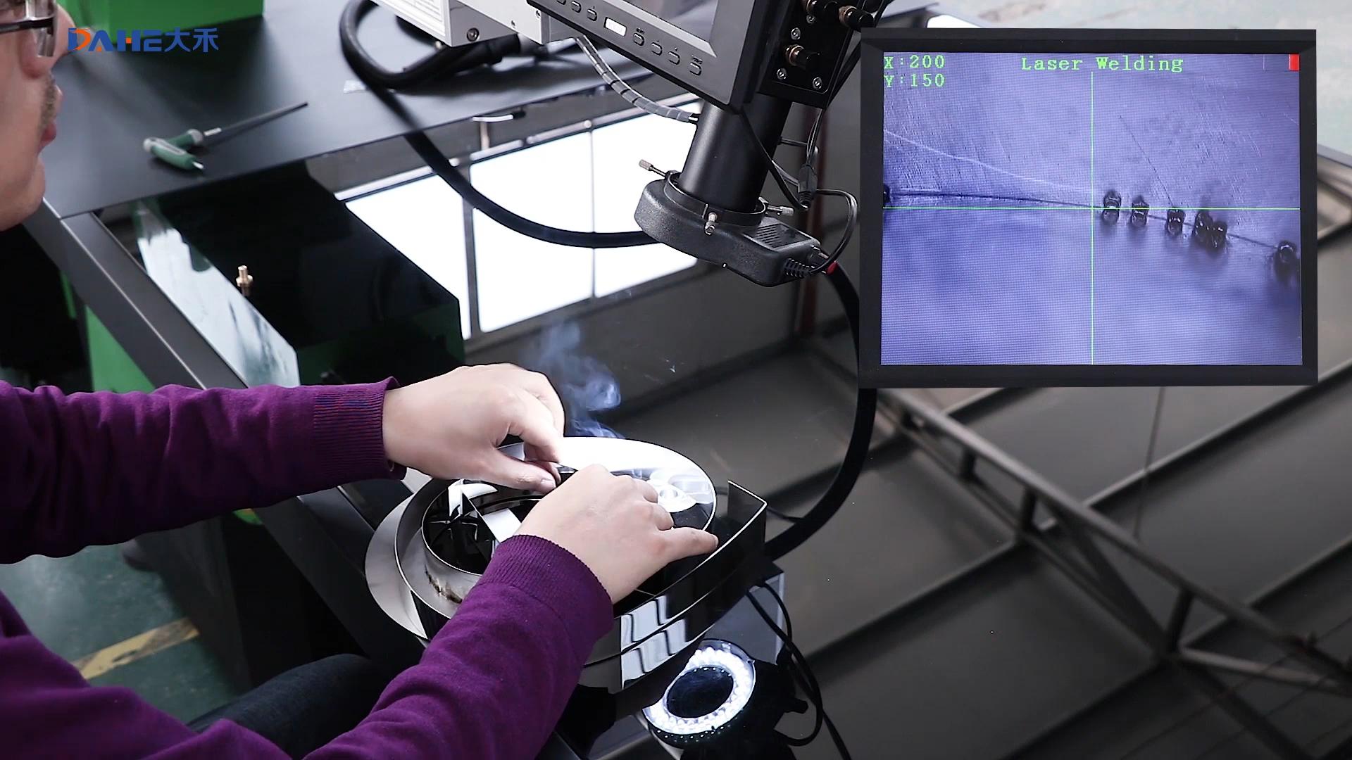 YAG Laser di Saldatura Macchina/Laser di saldatura mani per la Lettera del canale