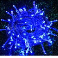 wholesale led christmas lights 100 leds/10m 110v/ 220V LED String fairy holiday lighting