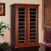 China made bottle wooden display cabinet commercial