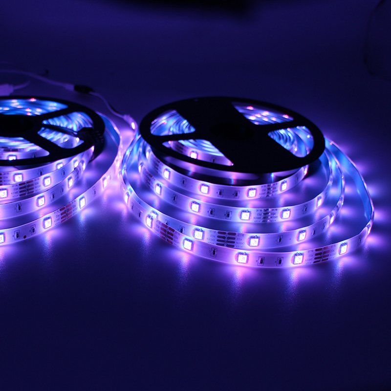 Brand New DC12V 2A Waterproof Skin Packing Decoration RGB 5050 SMD Waterproof IP65 LED Strip Lights
