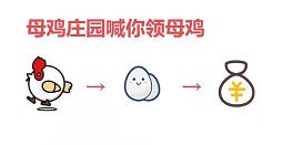 母鸡庄园:每天上号领取低保0.3秒到微信。插图