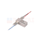 0.25mm 0.9mm Fiber Optic 2x2 Passive Mechanical Optical Switch with SC FC LC ST Connector