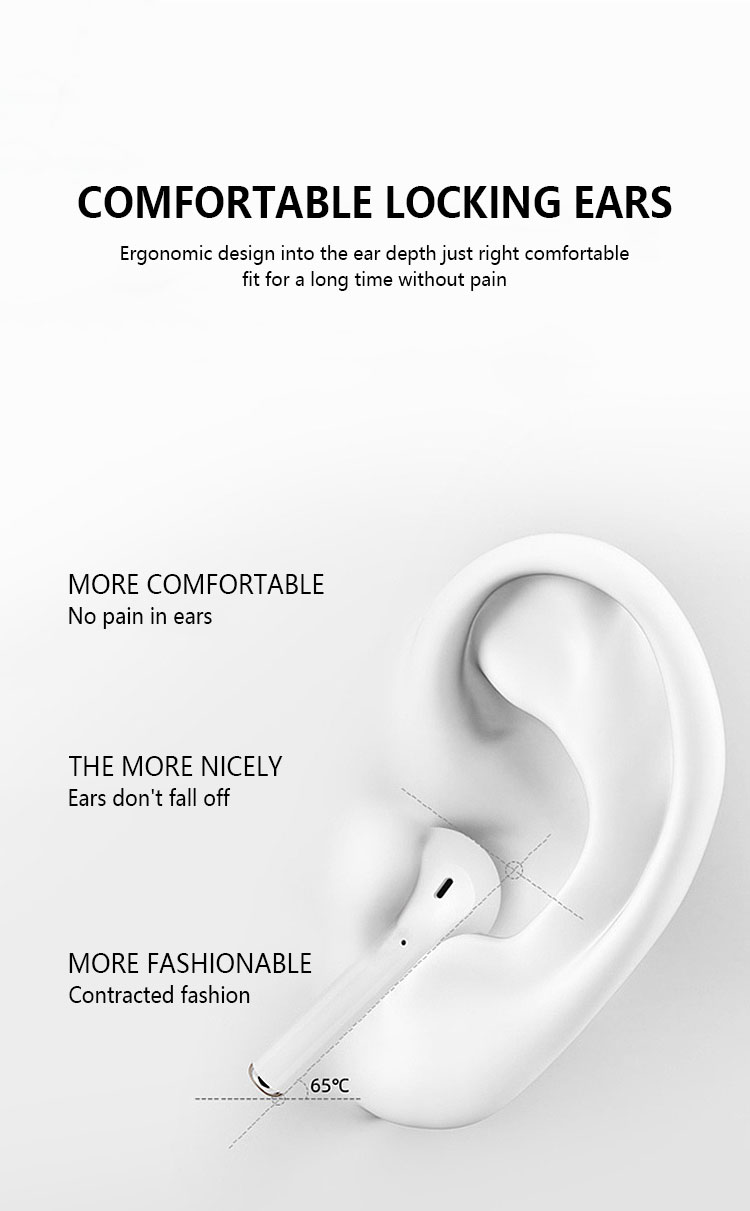 2020 5.0 bluetooth headphones easy carry and use for all phones Professional dropshipping with case manufacturer