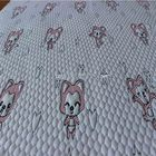Waterproof Knitted 100% Cotton Printed Baby Fabric For Bedding