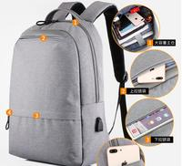 New rechargeable notebook shoulder computer bag wear-resistant waterproof LAPTOP casual backpack