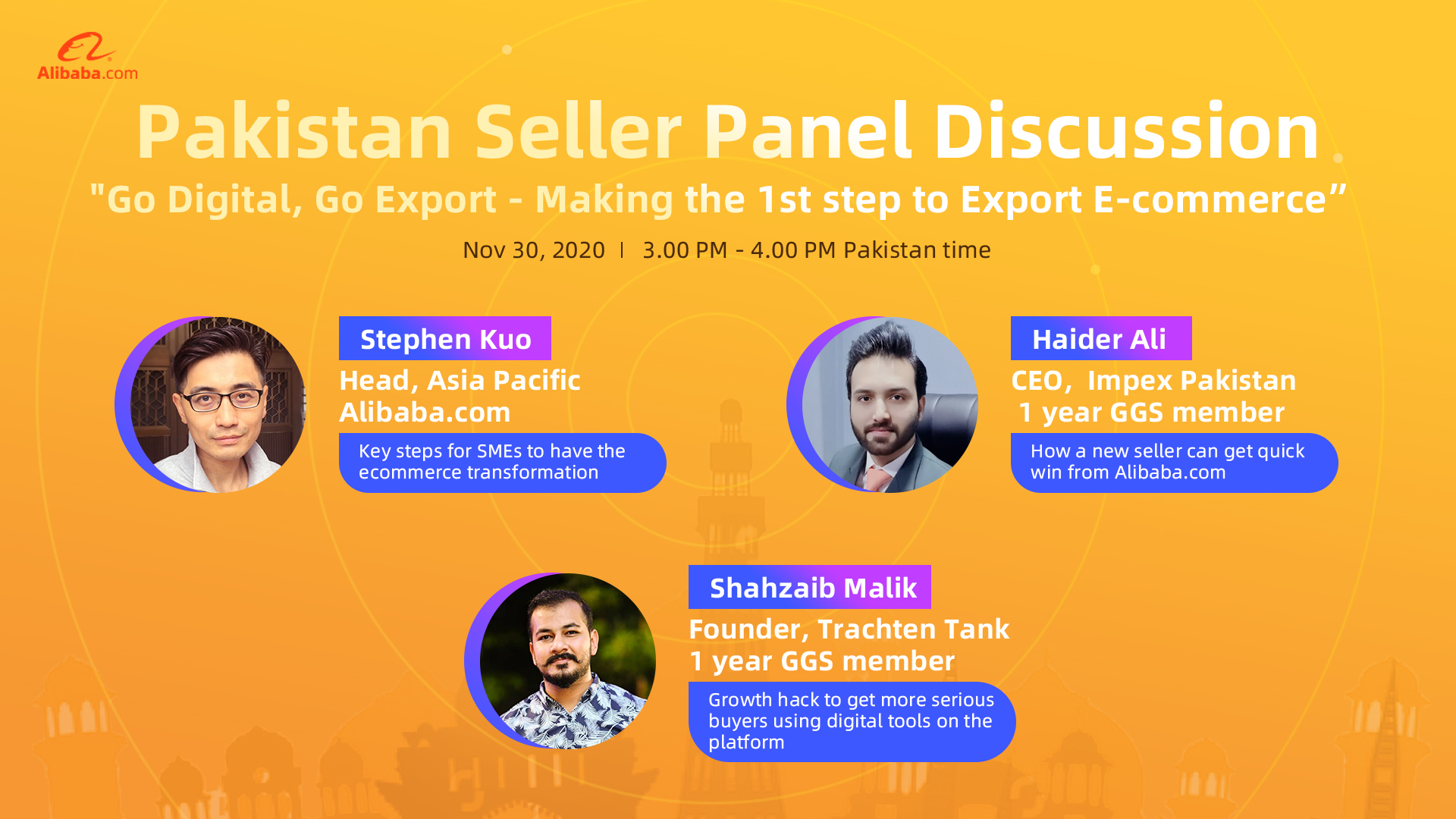 Pakistan Seller Panel Discussion: Making the first step to export ecommerce