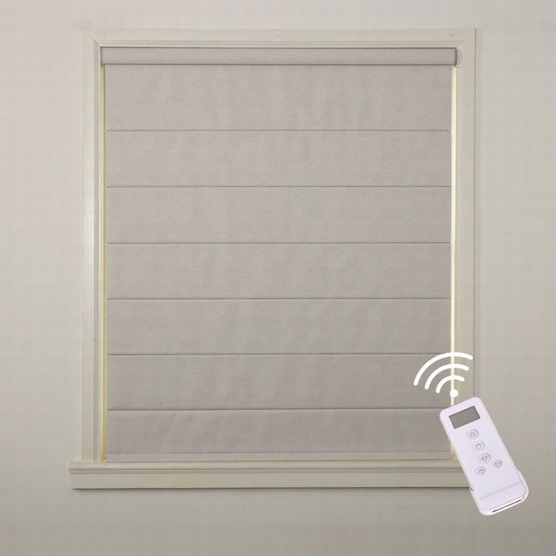 Electric automatic blind smart cordless roman shades cordless electronic blinds