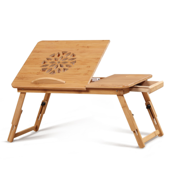 Bamboo Custom Folding Bed Desk Computer Desk