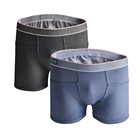 Jeans Style Spandex /Cotton/Polyester Denim Fabric Men's Underwear With Packet