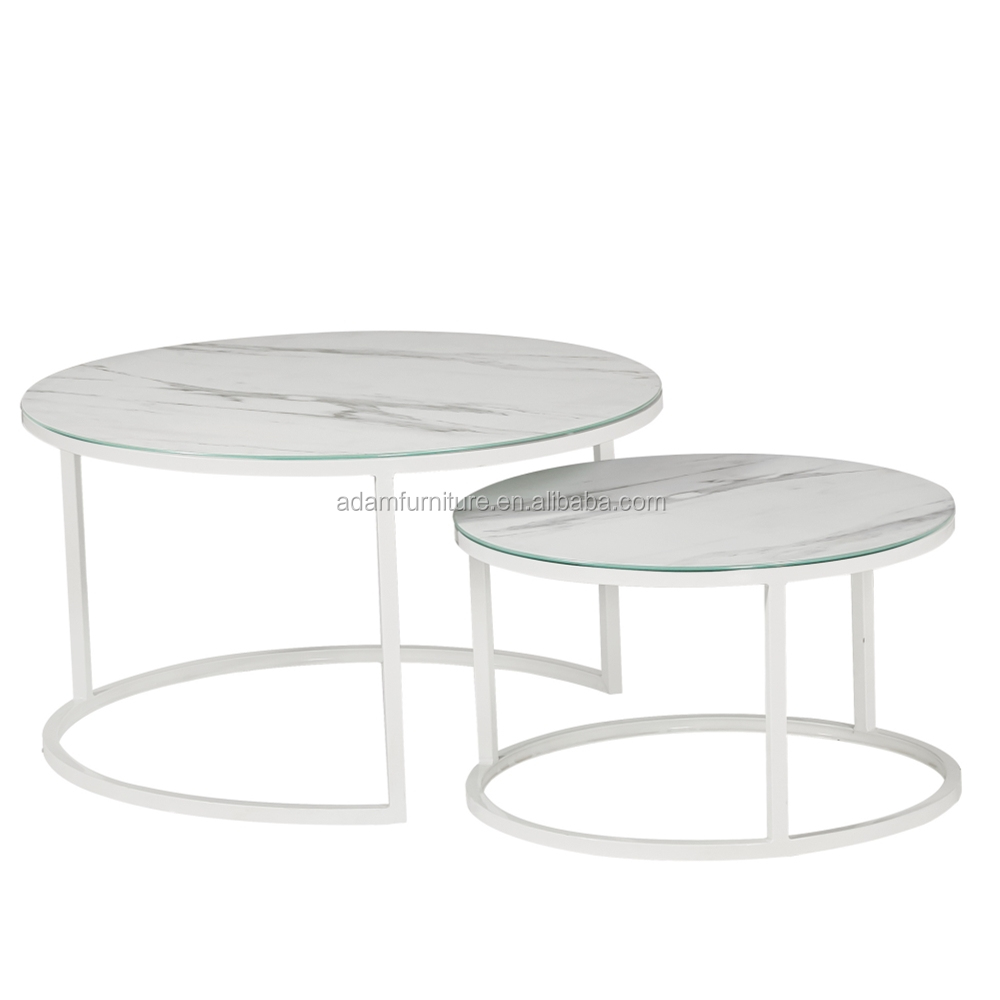 Hot Seller Luxury Round Marble Ceramic Glass Top Coffee Table With Stainless Steel Base Buy Luxury Marble Coffee Table Marble Ceramic Glass Coffee Tables For Sale White Round Coffee Tables Product On Alibaba Com