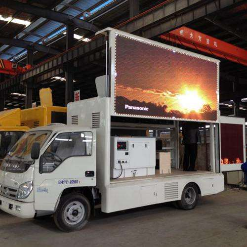 Outdoor Advertising Billboard Panel Vehicle Screen Mobile Trailer Portable Signs 3x6 Video Board Big Size P10 Truck Led Display