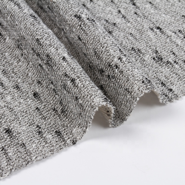 Wholesale colorful comfortable soft cloth 70% cotton 30% polyester knit french terry fabric