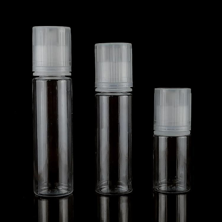 Empty 3ml 5ml 10ml plastic PE dropper bottle 15ml 20ml 30ml PET dropper bottle 50ml 60ml 100ml plastic e liquid bottle