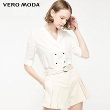 Женский Тонкий Блейзер с короткими рукавами Vero Moda на весну и лето | 319208541(Китай)