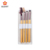4PCS Cosmetic Bamboo Wood Wooden Handle Makeup Brush Set With a Brush case