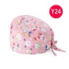 fast ship lovely Female Practical Surgical Nurses Printing nurse hat dentist Doctor cap