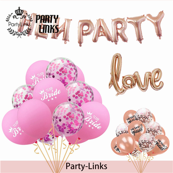 Bachelorette Party Supplies Rose Gold Party Decorations Bridal Shower Favors Party Package