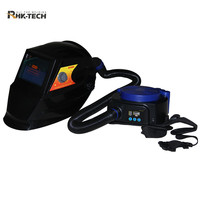 automatic arc welding mask welding helmet with Air Purifying Respirator Ventilation System