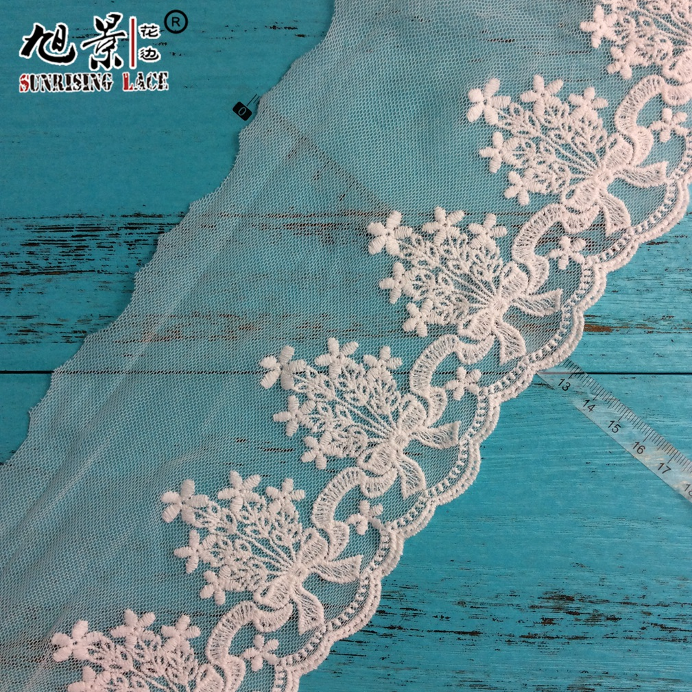 Lace Factory In China Net Organza Lace