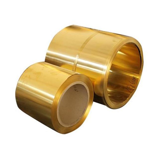 Haute qualité ASTM laiton bobine/bande de Laiton