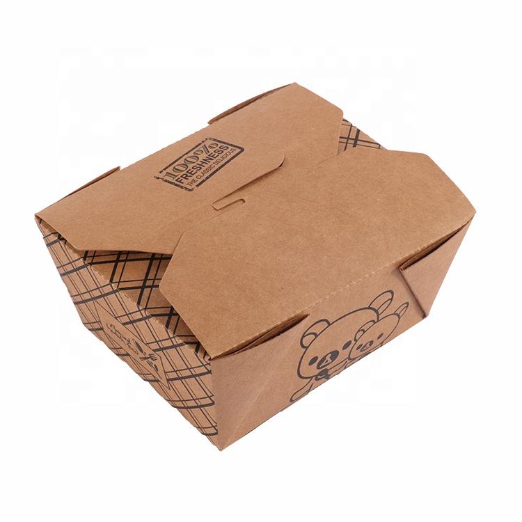 High Quality Cardboard Food Grade Brown Kraft Paper Box For Packaging