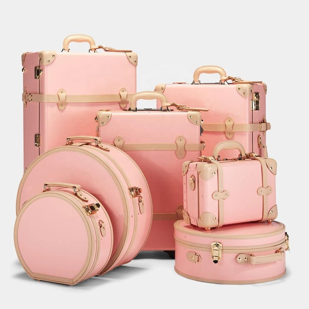 mens womens international travel home depot best good high quality luxury  vintage leather travel luggage sets 6 piece