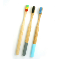 chinese carbon toothbrush bamboo wooden handle wholesale