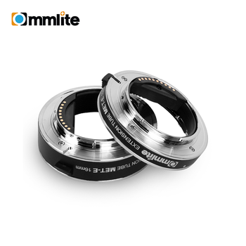 Commlite CM-MET-E Automatic Macro Extension Tubes for Sony E-Mount Camera