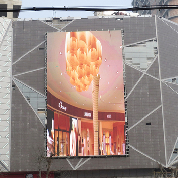 Latest technology products for P4/P6/P8/P10 / outdoor media facade led display led screen for advertising