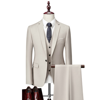 Factory price suit for men 3 pieces formal suites for man mens formal suits