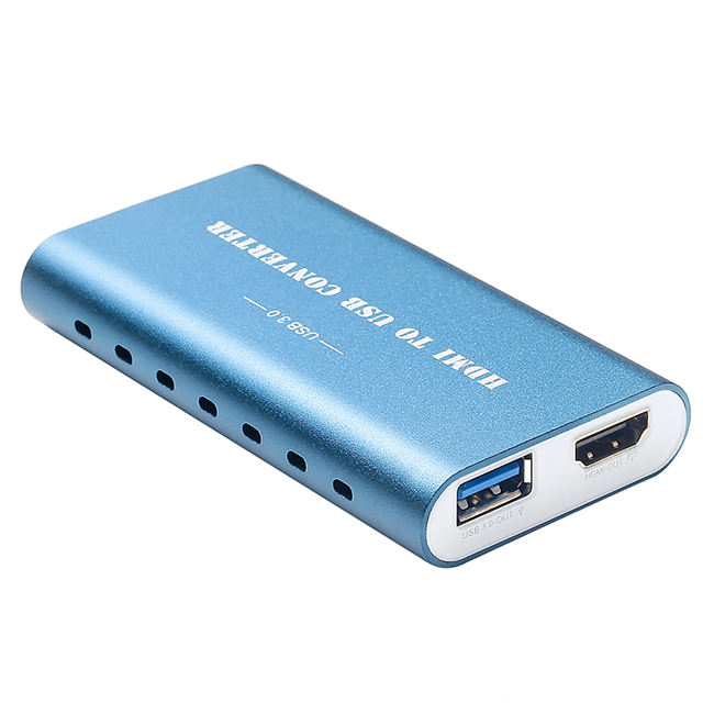 Haiwei usb 3.0 game capture card live streaming HDMI fhd video capture device video hdmi to usb capture card
