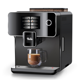 A10 coffee machine automatic Touch Screen, stainless steel drip espresso machine/automatic coffee machine