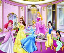 Пользовательские обои росписи Замороженная Принцесса Девушка Спальня Детская комната фон декоративные росписи(Китай)