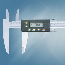 0-1000 Mm Kaliper <span class=keywords><strong>Digital</strong></span> dengan Knife-Edge Rahang (Tipe B) <span class=keywords><strong>Digital</strong></span> Vernier <span class=keywords><strong>Caliper</strong></span>