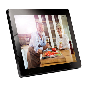 Family size digital picture frame photo album touch screen is optional