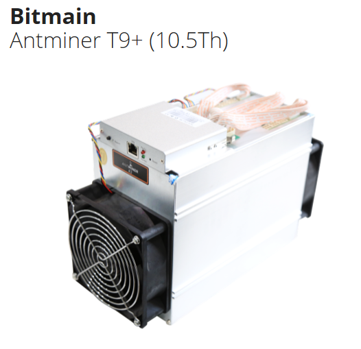 Antminer  T9+ 10.5T used Bitcoin Miner Antminer 1432W with Power Supply(PSU) asicminer 8 nano pro T9