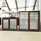 Factory direct cheap prices thermal insulated aluminum window thermal broken aluminium double glass windows