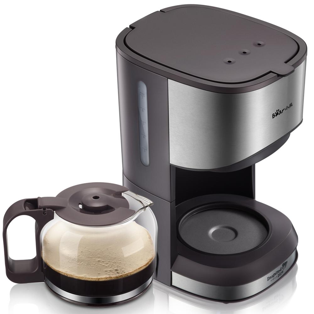 Xiaoxiong, американская полностью автоматическая кофеварка, бытовая, капельного типа, мини-кофейник для приготовления чая и чая, 220 В(Китай)
