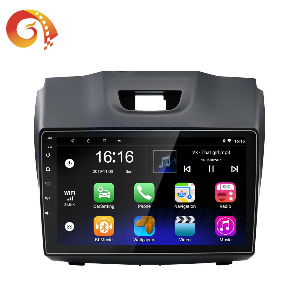Touch Screen Auto Dvd Gps Navigatie Dashboard Autoradio Android Radio Voor Isuzu Dmax 2013 2014 2015 2016 2017 2018