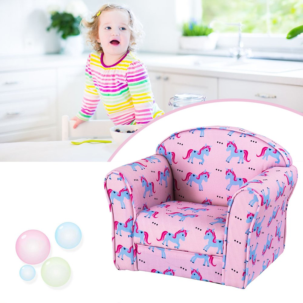 Unicorn bon/_shop Lovely Children Bedroom Playroom Armchairs Upholstered Armchairs