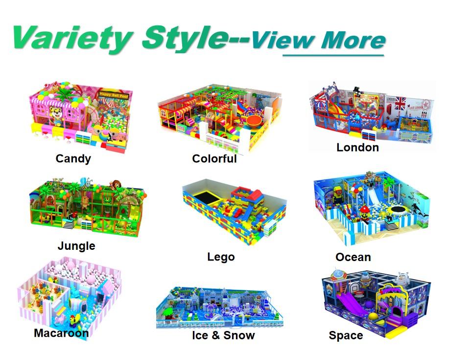 Profesional personalizado de los niños equipo del patio jugar suave juguetes de bloques de jardín colorido con descuento