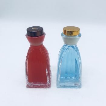 Free Sample Length Shape Fragrance Aluminum Cap Round Reed Diffuser Bottle