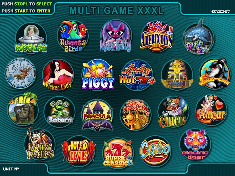 new classic arcade games New xxxl multigames-22 in 1 slot game board