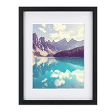 A1 A2 A3 A4 Black Wood Picture Frames For Home Decor