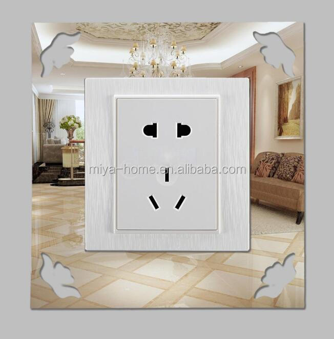 Fashion DIY creative home decoration acrylic mirror Switch wall stickers / Switch stickers