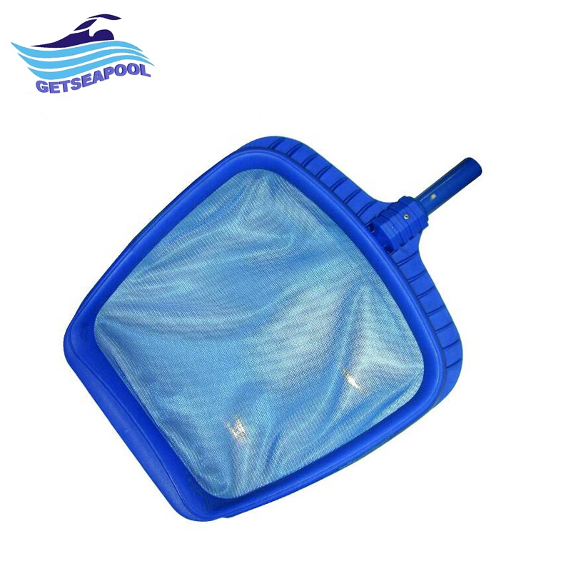 Happy Hot Tubs Swimming Pool Leaf Skimmer Net With 5 piece 48 pole Leaf Remover Cleaner Clean