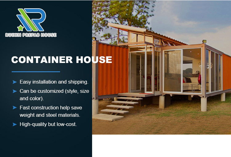beach tiny container house manufacturer
