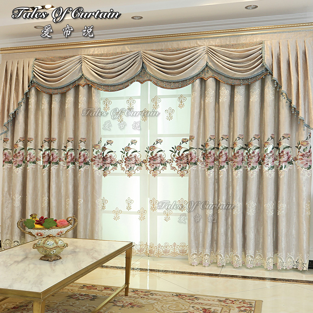 Tales Of Curtain Fancy Design With Split Joint Lace For Living Room Chenille Curtain Fabric Buy Fancy Living Room Curtains Wholesale Sheer Curtain Chenille Curtain Fabric Product On Alibaba Com