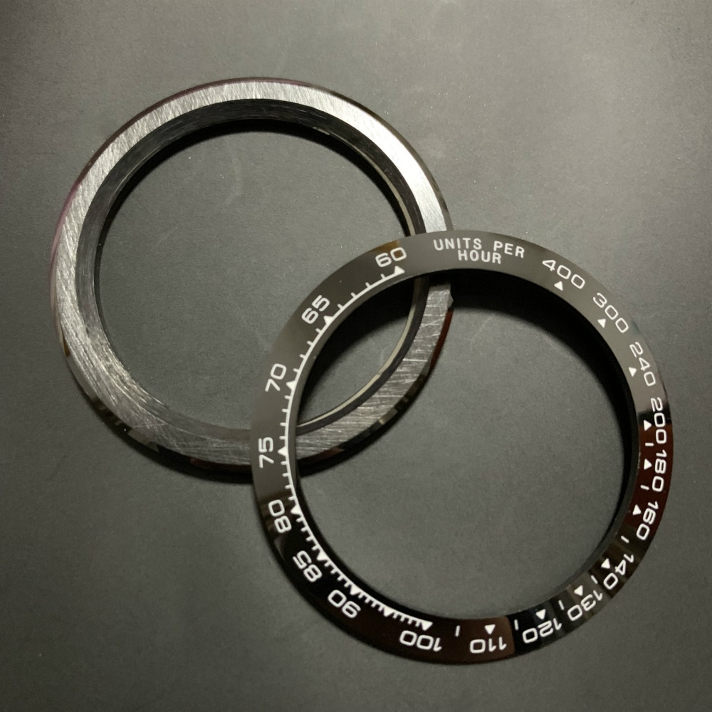 High quality watch <strong>case</strong> bezels <strong>ceramic</strong> dial ring inserts for Daytona Watch
