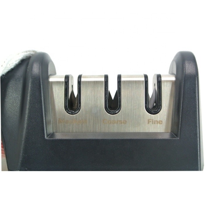 SATC 2020 2 in 1 Kitchen Knife Sharpener for Straight Knives and Scissors